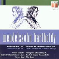 Mendelssohn: Piano Concerto Nos. 1&2/Concerto for Two Pianos in E