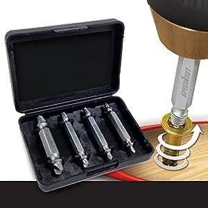 【 なめたネジに喝 】 ネジ切り先生 なめたボルト 簡単 取り外す DIY 工具 家具 電子機器 ドライバー 鉄 銅 六角 便利グッズ SD-DZ-1500