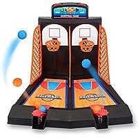 OVERMAL Toy Miniインタラクティブゲームミニバスケットボールパズルボードゲーム