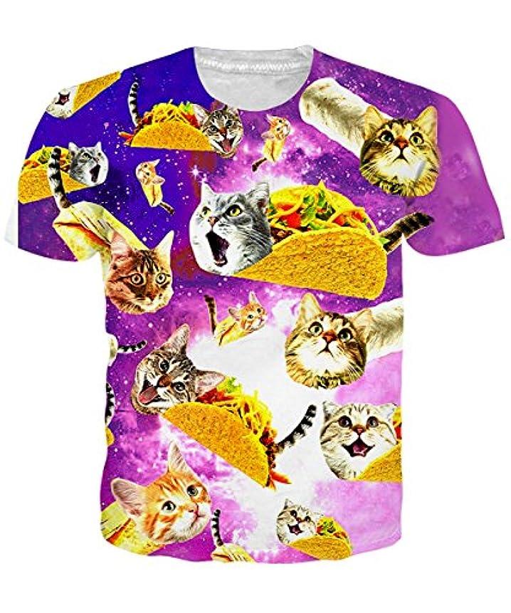 爆発物サイトラインメディックNEWISTAR メンズ Tシャツ 半袖 3Dプリント 夏 大きなサイズ 男女兼用 創意デザイン おもしろ