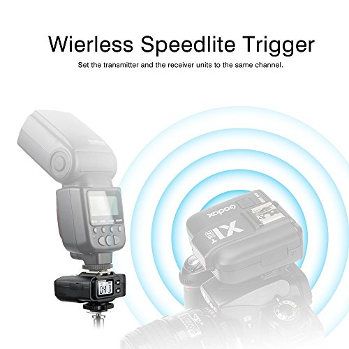 【Godox正規代理店 一年間保証】Godox TTL X1R-N 受信機 ワイヤレス フラッシュ トリガーレシーバ Nikon デジタル一眼レフカメラ対応