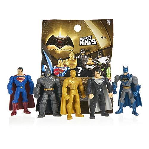 DCコミックス バットマン アンリミテッドシリーズ 1 マイティミニ (6パック) Batman VS Superman, Series 1 WWEz