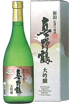 真野鶴(まのつる) 大吟醸 720ml