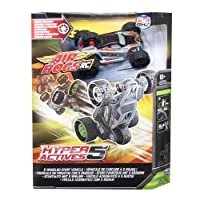 Air Hogs RC Hyper Actives 5 - 5 Wheeled 2.4 GHZ RC Stunt Vehicle - Grey [並行輸入品]