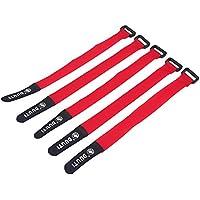 自転車 裾止めバンド タイダウンベルトソ フトフックソフトループストラップ 調整が簡単 5色