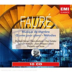 EMI ガブリエル・フォーレ:室内楽曲&ピアノ曲集(10枚組)のAmazonの商品頁を開く