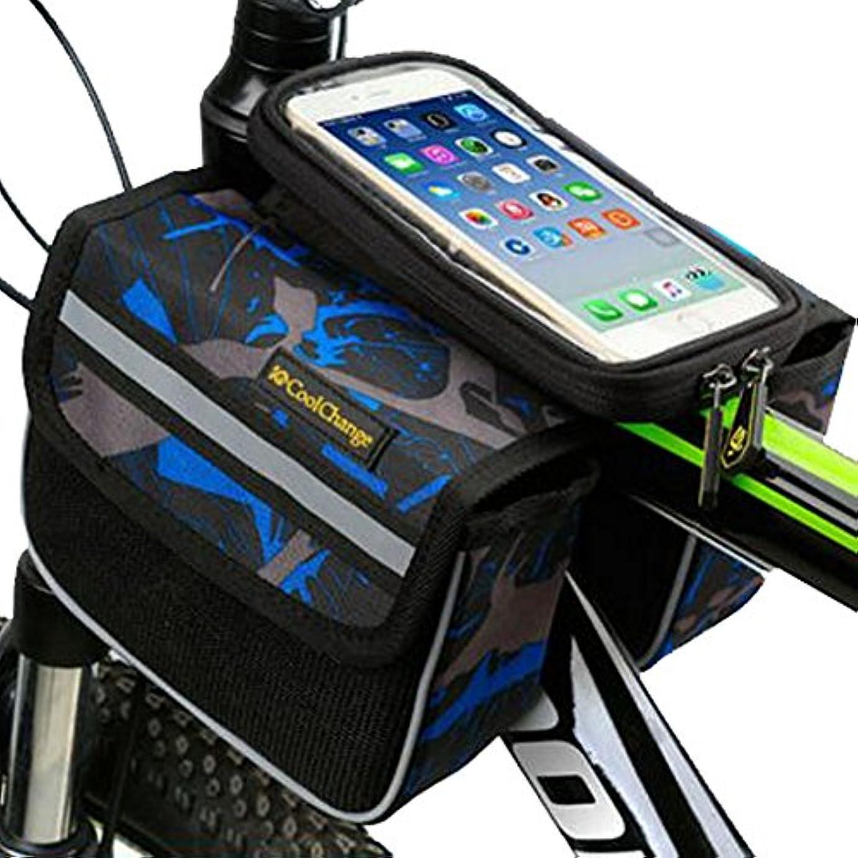 解任方言どこかサイクリングパニエサドルバッグフレームバイクバッグバイクハンドルバーバッグ-A2