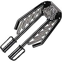 進化版マッスルビルダー 大胸筋トレーニング アームバー 筋トレグッズ エキスパンダー 胸筋・腕・手首・背筋・トレーニング器具