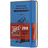 モレスキン 手帳 限定版 不思議の国のアリス 2018年 1月始まり ウィークリー ハード ポケット DAL12WN2Y18