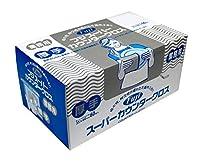 【お買得】フジ スーパーカウンタークロス 厚手 360枚(60枚×6箱) (グリーン)
