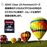 旧モデル Transcend SDHCカード 16GB Class10 TS16GSDHC10 5年保証 画像