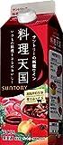 サントリー 料理天国(赤) 500ml 紙パツク [日本/赤ワイン/辛口/ミディアムボディ/1本]