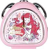 ティーズファクトリー 置き時計 アリエル H13.5×W13×D5cm ディズニー ガーリープリンスおむすびクロック DN-5520226AR