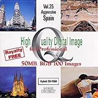 High Quality Digital Image for Professional Vol.25 Aggressive Spain