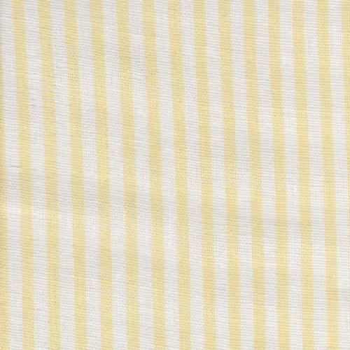 7070550aac8d8e 【綿二重ガーゼ・ダブルガーゼプリント】約2mm幅イエロー系ストライプ 6色あります 1m単位で切り売りいたします お子さんの枕カバーにでもどうですか?