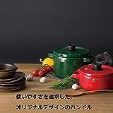 富士ホーロー キャセロール solid 20cm レッド SD-20W・R 画像