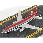 (ホット ウイングス) Hot Wings Northwest DC-10 滑走路付 飛行機 ダイキャスト