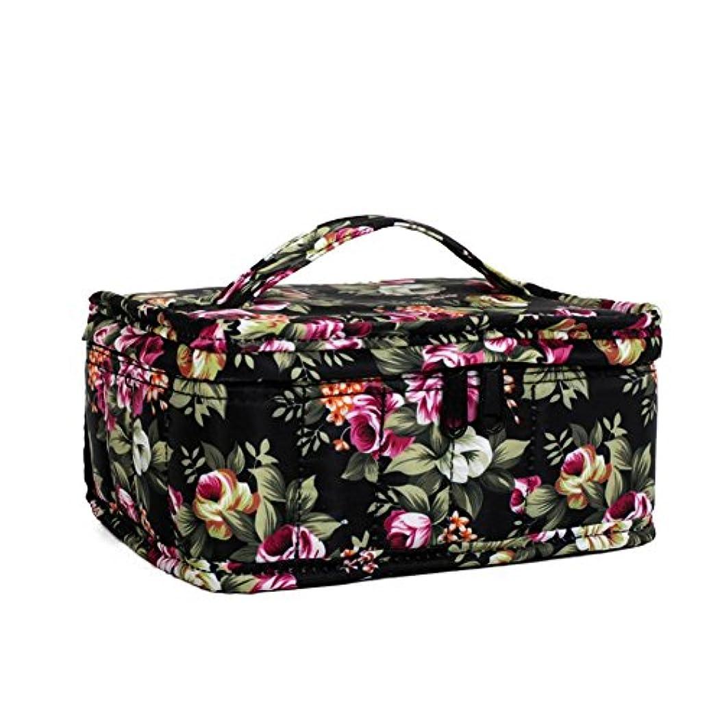 物足りない維持争うFarlong 色柄17コマオイルバッグ エッセンシャルオイル収納袋 香水収納袋 アロマオイル収納袋 保管袋 パッケージ携帯ケース用 大容量 4色