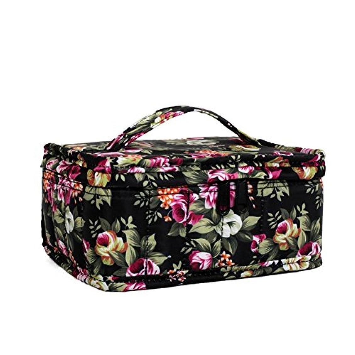 部分サークルかわいらしいFarlong 色柄17コマオイルバッグ エッセンシャルオイル収納袋 香水収納袋 アロマオイル収納袋 保管袋 パッケージ携帯ケース用 大容量 4色