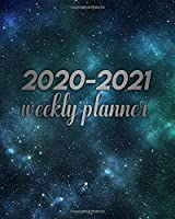 2020-2021 Weekly Planner: Amazing Two Year Weekly Daily Organizer & Calendar | Beautiful Vast Universe 2 Year Schedule Agenda with Inspirational Quotes, To-Do's, U.S. Holidays, Vision Board & Notes