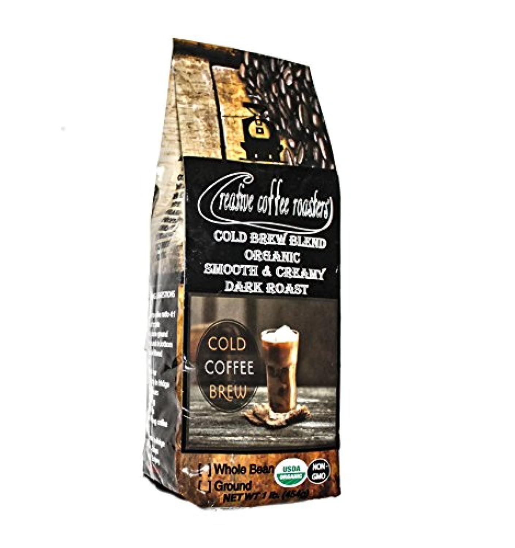 Cold Brew – 有機ダークロースト – Fresh Roasted Coffee – WholeまたはGround Bean、またはSingle Serveコーヒーカプセル – USDAオーガニック – ノンGMO...