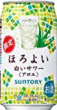 サントリー チューハイ ほろよい 白いサワーアロエ [ 350ml×24本 ]