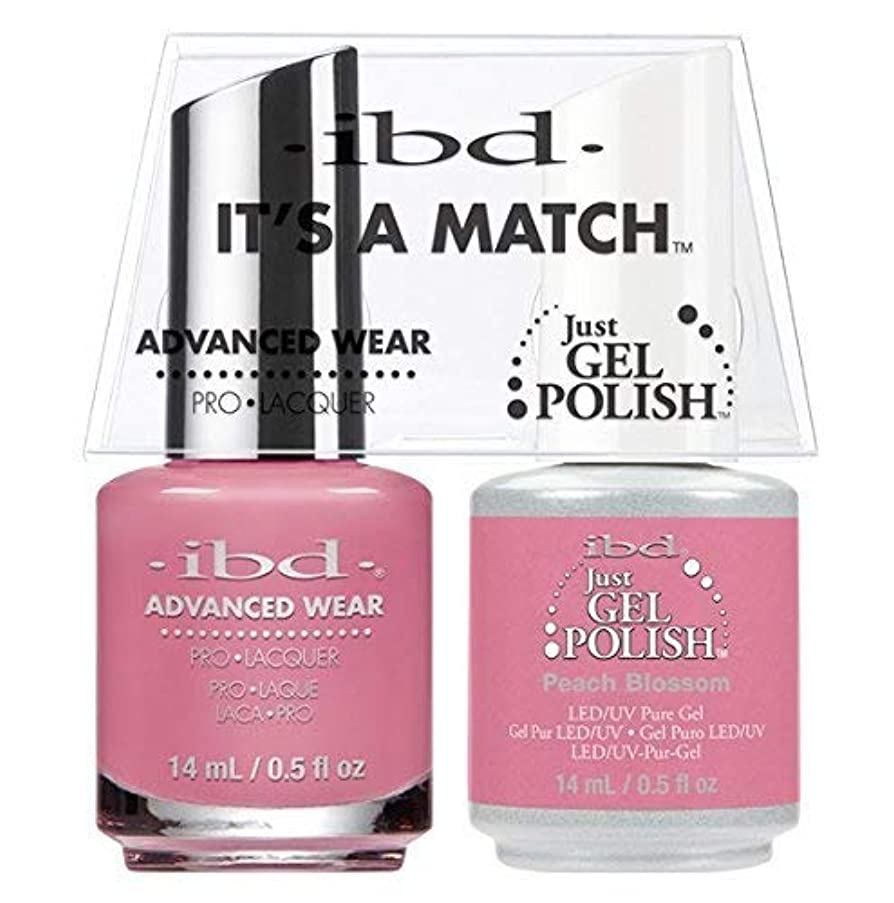 再開さようならプラットフォームibd - It's A Match -Duo Pack- Peach Blossom - 14 mL / 0.5 oz Each