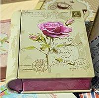 梱包箱のギフトボックス食品ボックスの新しいZAKKA錫ミニブックタイプのブリキの箱:NO5