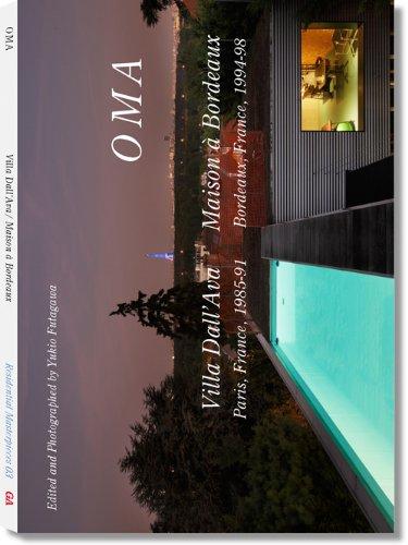 ヴィラ・ダラヴァ/ボルドーの住宅 OMA Villa Dall'Ava1985-91/Maison a Bordeaux1994-98 —世界現代住宅全集03(Residential Masterpieces)