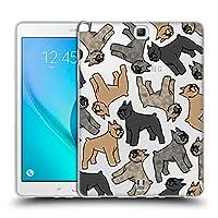 Head Case Designs ブービエ・デ・フランダース ドックブリード・パターン9 Samsung Galaxy Tab A 9.7 専用ソフトジェルケース