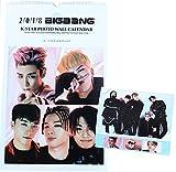 BIGBANG ビッグバン 大判 壁掛け カレンダー 2018年 (平成30年) + 卓上カレンダー + ブロマイド [3点セット]