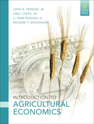 Download Introduction to Agricultural Economics 0131592483