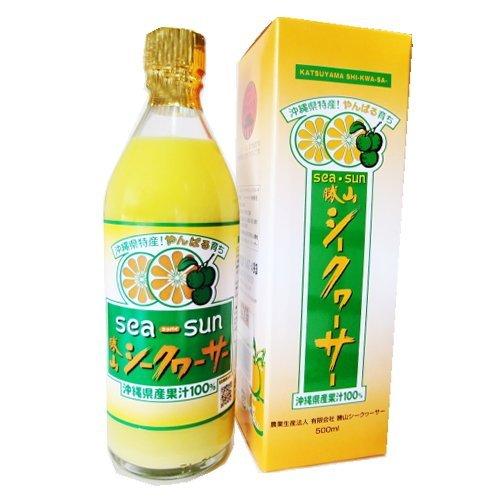 勝山シークヮーサー100%果汁 500ml