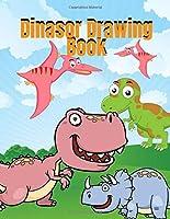 Dinasor Drawing Book: Dinosaur Coloring Book for Kids, Fantastic Dinosaur Coloring Book for Boys, Girls, Toddlers, Preschoolers, Kids 3-8, 6-8 (Dinosaur Books)