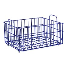 Atlantic Cart System Removable Basket - Tiered Cart System Wire Basket PN2330843 in Blue