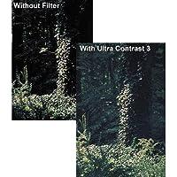 """Tiffen 4 x 5.65"""" Ultra Contrast 1 Filter [並行輸入品]"""