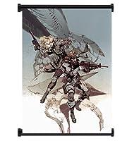 メタルギアソリッド2Sons of Libertyゲームファブリック壁スクロールポスター( 16x 24)インチ