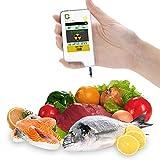 Greentest テストデジタル即時食べ物硝酸塩・放射線検出器。肉、果物、野菜用(白)