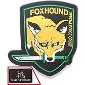 FOXHOUND フォックスハウンド メタルギア MGS4 PVC ワッペン 2種セット  コスプレ L869