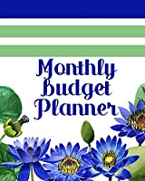 Monthly Budget Planner: Monthly Bill Planner & Organizer | Blue Lotus Financial Budgeting Workbook with Expense Trackers, Budget Worksheets & More