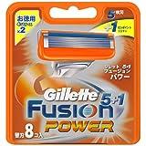 ジレットフュージョン5+1パワー専用替刃8B