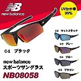 ニューバランス おすすめ new balance(ニューバランス) スポーツサングラス NB08058 C-4・ブルー 【人気 おすすめ 】
