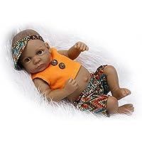 Nicery 生まれ変わった赤ちゃん人形おもちゃハードシミュレーションシリコンビニール10インチ26cm防水おもちゃとギフト Reborn Baby Doll ID26002B