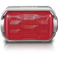 PHILIPS Bluetoothスピーカー ワイヤレス/ポータブル/IPX6防水仕様 レッド BT2200R