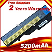 Laptop Battery for Lenovo IdeaPad G460 G470 G560 G570 B470 B570 V470 V300 V370 Z370 Z460 Z470 Z560 Z570