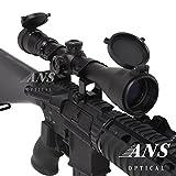 【Amazon.co.jp限定】ANS Optical ライフルスコープ 3-9 x 40mm Pro 可変ズーム ハイエンドモデル シーグリーンコート バトラーキャップ 2480円相当 キルフラッシュ付