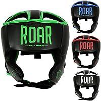 Roar ProfessionalボクシングヘッドガードキックボクシングMMAムエタイヘルメット面プロテクター