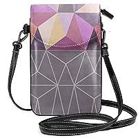 Ciounカスタムメイド不規則パターン縫い スモールクロスボディ電話バッグ財布トートミニショルダーバッグ女性