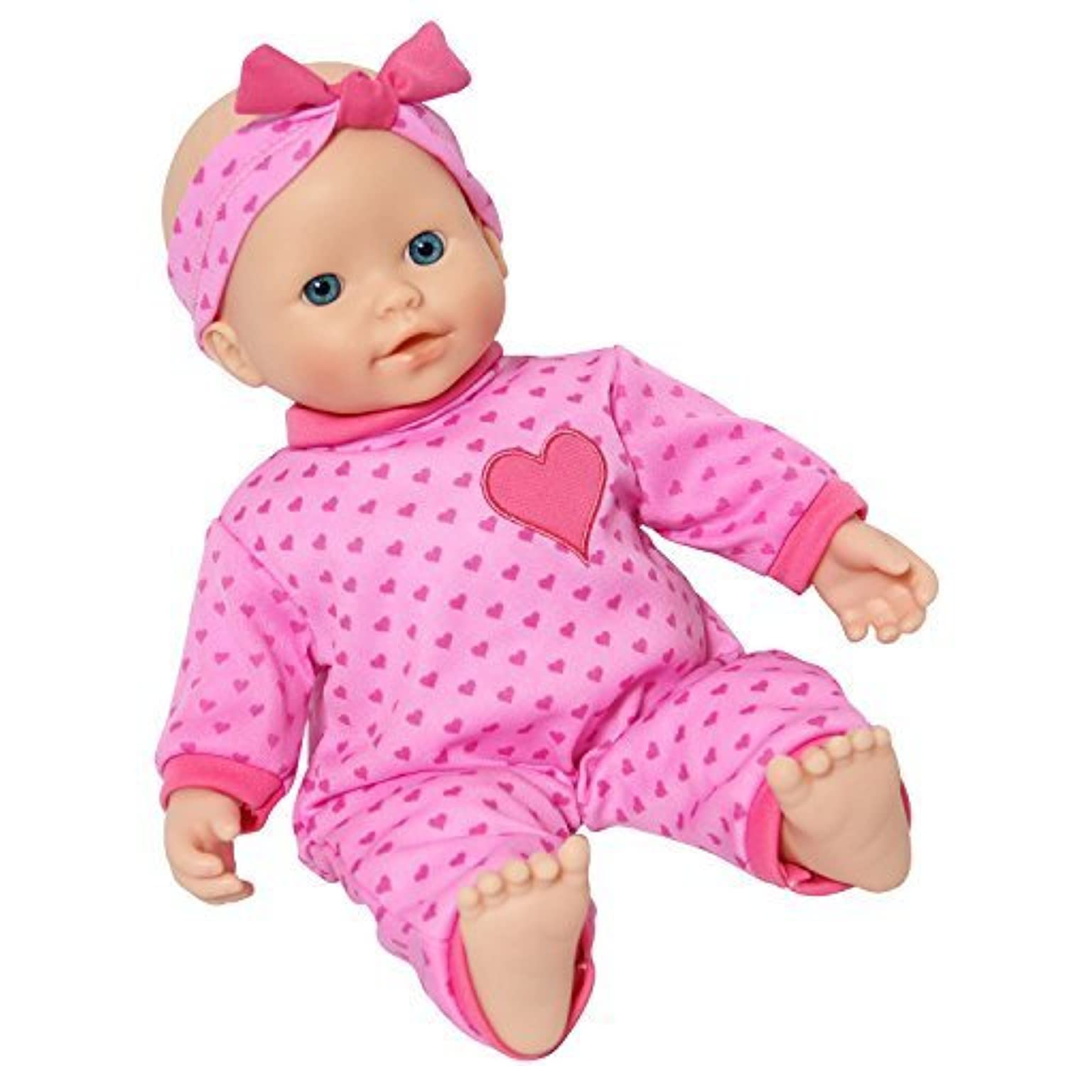 14 inch Soft Body Caucasian Baby Doll