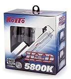 KOITO [ 小糸製作所 ] HIDホワイトビーム [ 5800K ] P3515T [ 2個入り ]